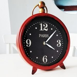 Vintage inspired clock